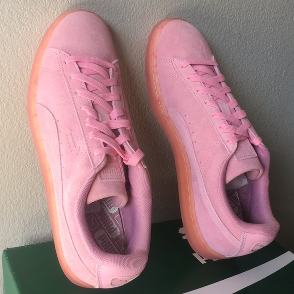 prix le plus bas daa50 aad5a PUMA Suede Classic Easter FM Prism Pink/Prism Pink NWT